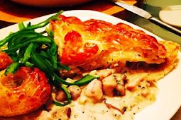 Chicken, Mushroom & Tarragon Pie