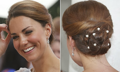 Kate Middleton penteado