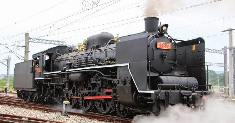 飛行場の測候所: 原汁原味的臺鐵蒸汽火車CT273復活了!