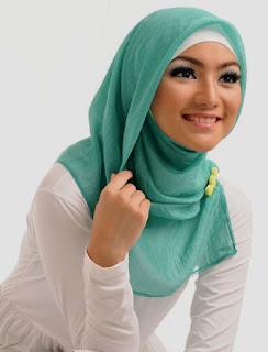 gambar model jilbab modern