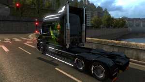 Scania T World of Warcraft Legion Skin