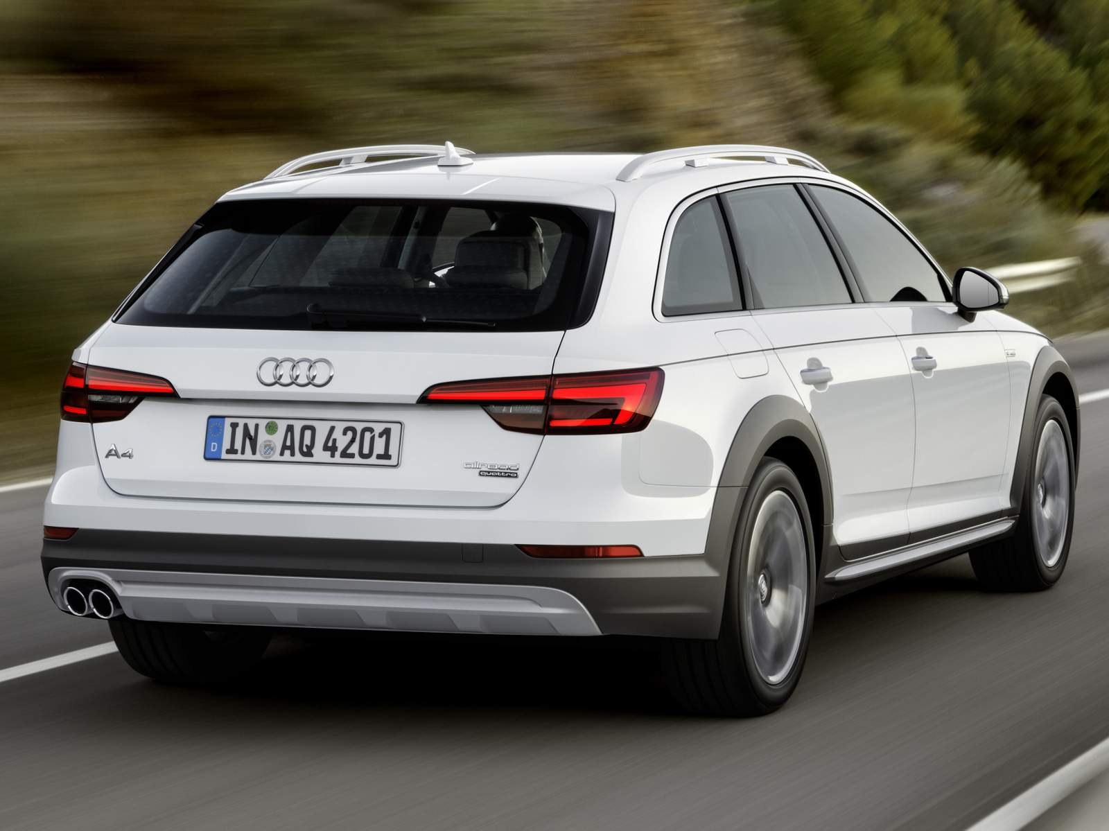 Novo Audi A4 Allroad 2016
