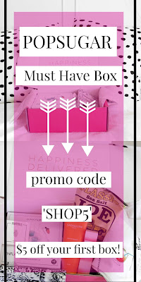 popsugar must have box promo code