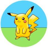 Oblea para tartas Pikachu