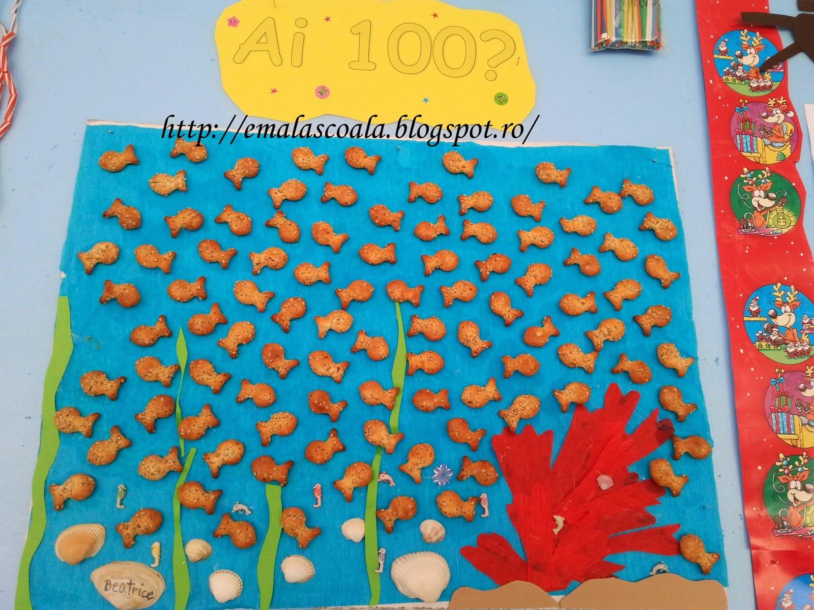 100 zile de scoala - lucrari