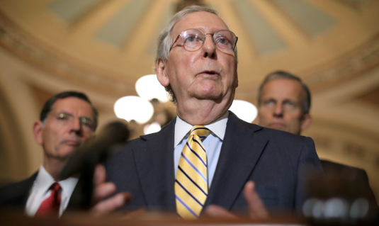 McConnell says only senators will see FBI's Kavanaugh report