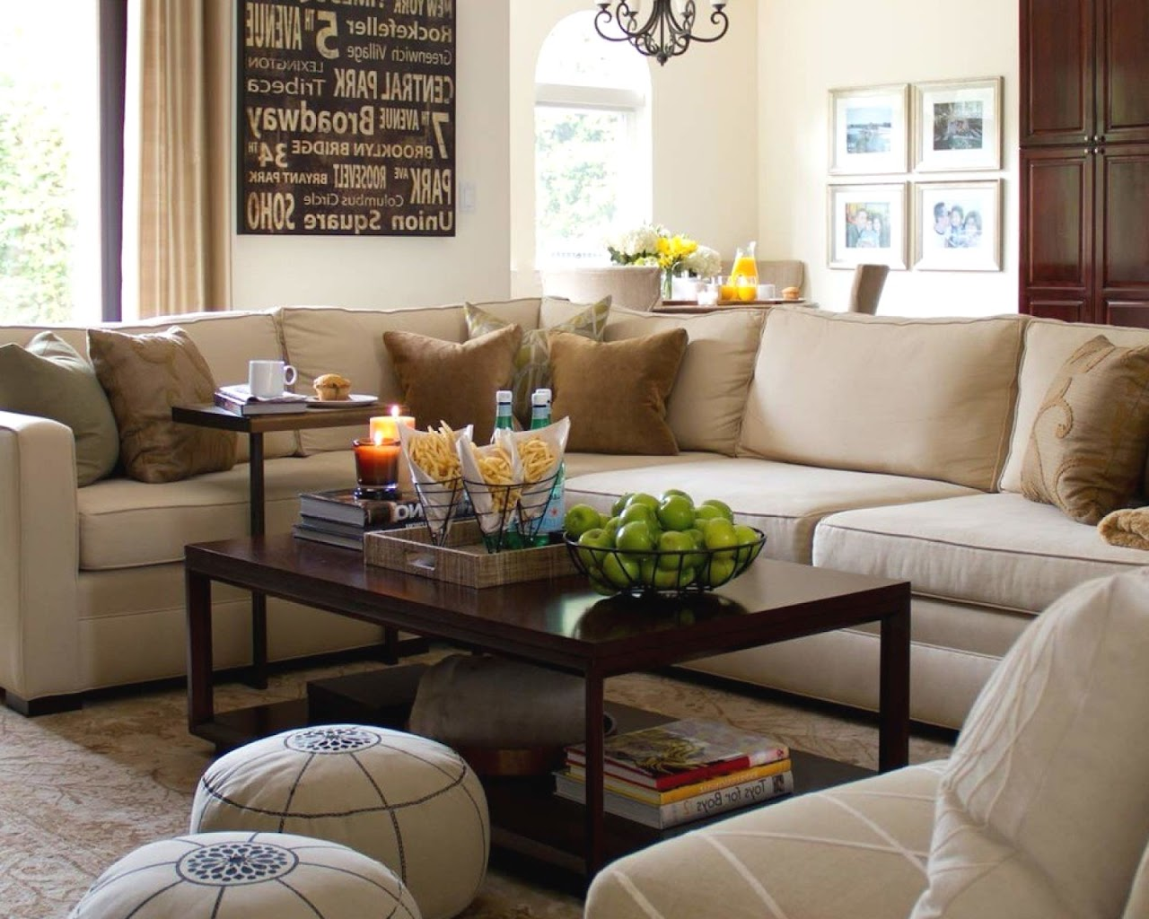 Living room furniture california casual family room for Casual family room ideas