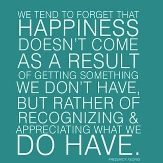 happiness doesnt come as a result