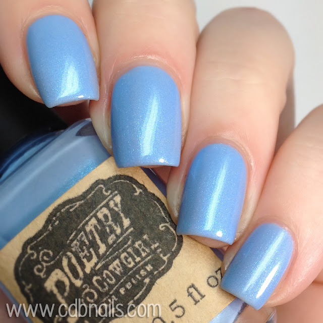 Poetry Cowgirl Nail Polish-Frost Whisper