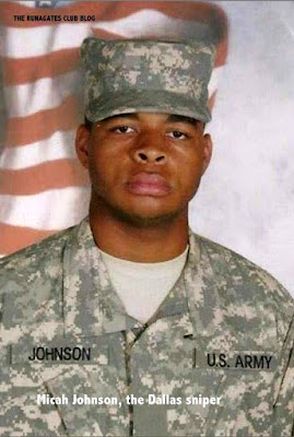 Micah Johnson - U.S. Army Reserve, the Dallas sniper - July 2016