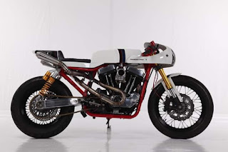Harley Davidson Sportster 1460cc Cafe Racer Custom