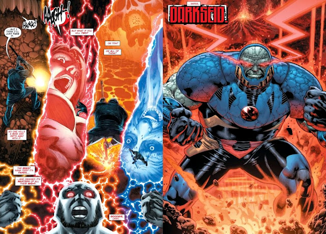 Uxas se transforma Darkseid