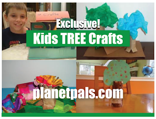 Kids Recycle Tree Crafts Arborday Everyday