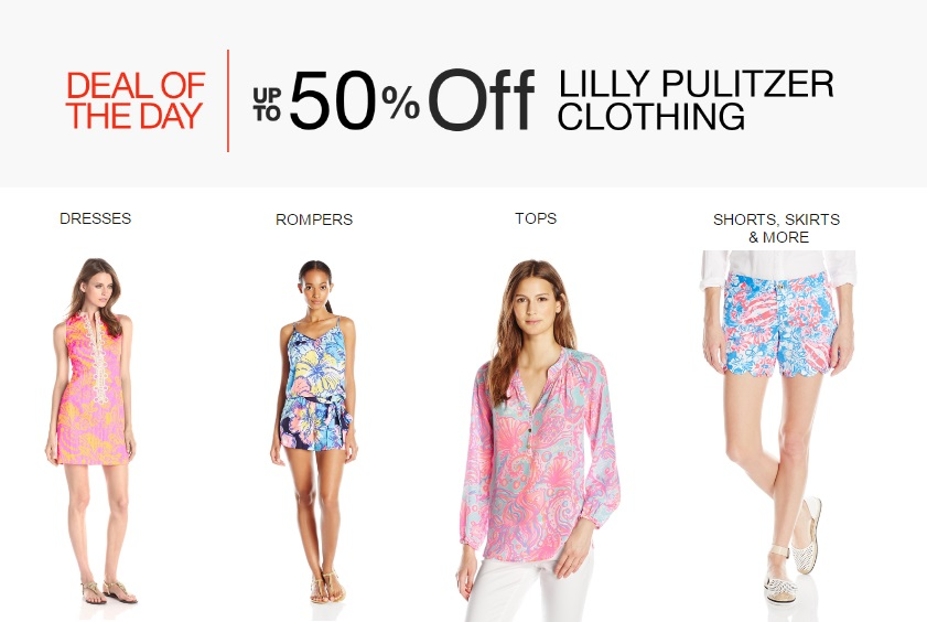 Amazon Deal of the Day: up to 50% off Lilly Pulitzer clothing!