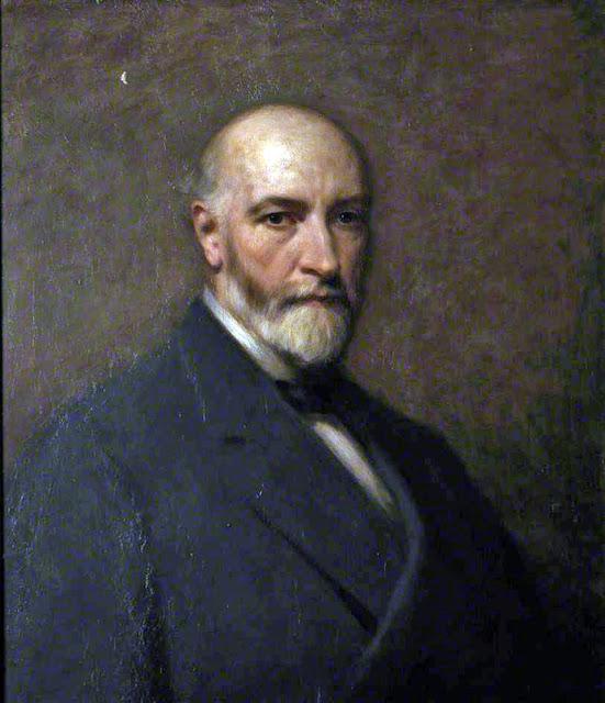 Alexander S. Mackay, Self Portrait, Portraits of Painters, Fine arts, Portraits of painters blog, Paintings of Alexander S. Mackay, Painter Alexander S. Mackay