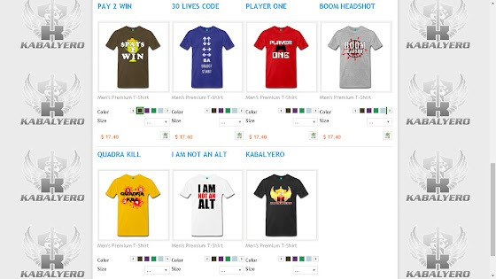 My store in Spreadshirt
