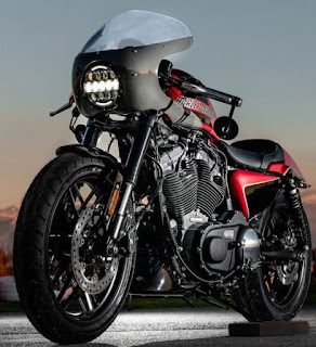 vulcano sportster 1200 roadster cafe racer by hd granada