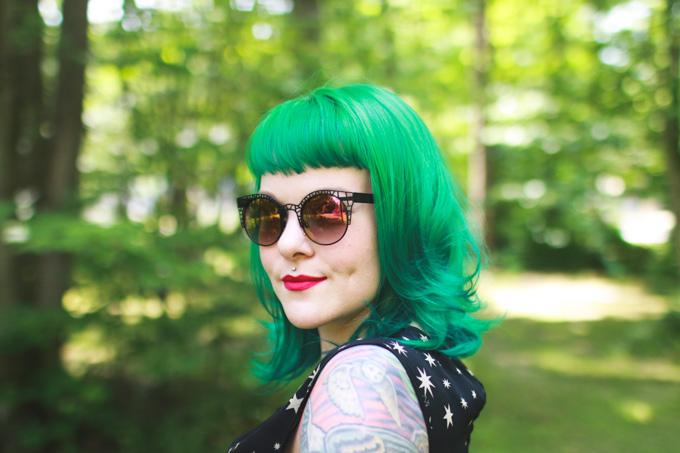 Colourpop poppin' matte x, cleveland blogger, kaylah doolan