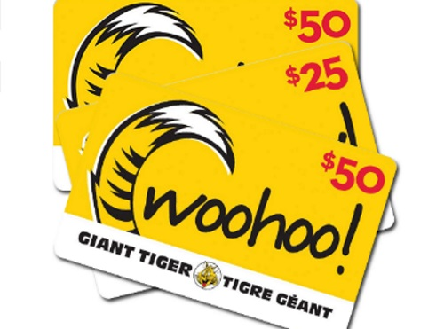 Giant Tiger Back At It Contest