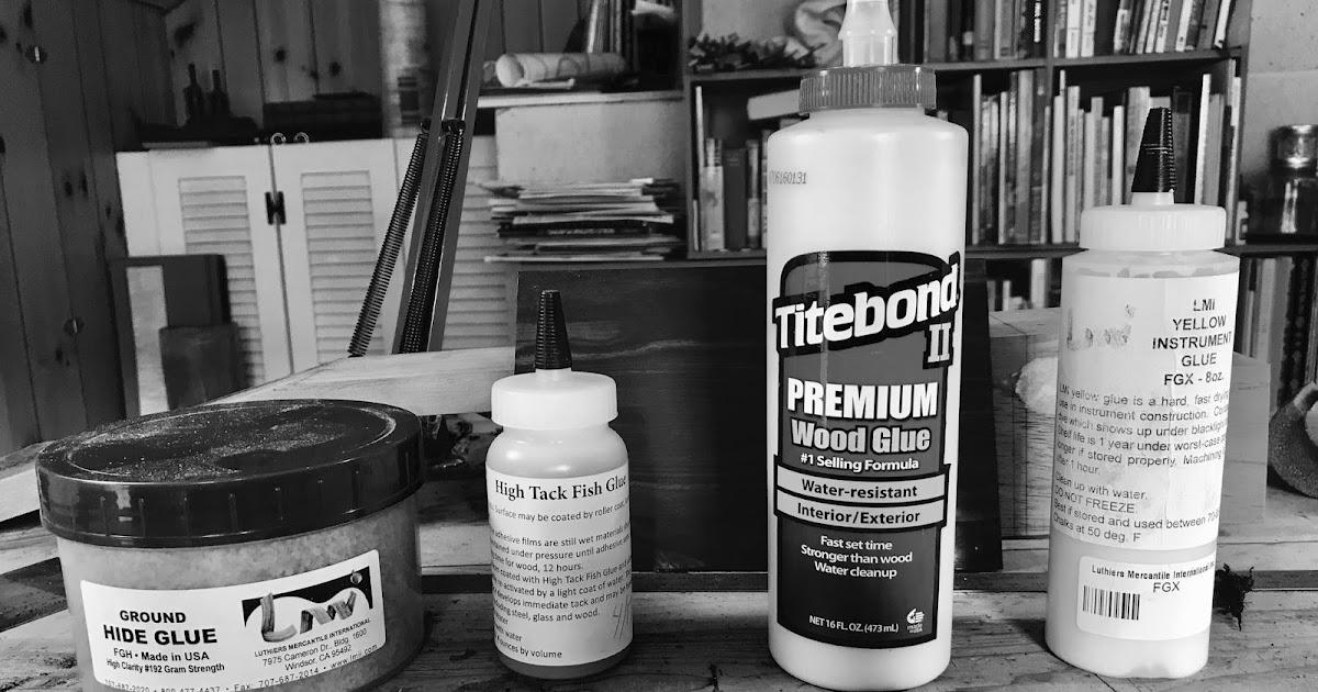 The Glues That I Use