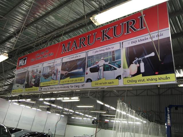 Toyota Tân Cảng vừa triển khai dịch vụ làm đẹp xe theo tiêu chuẩn Nhật Bản Marukuri