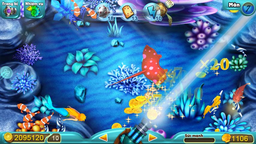 game bắn cá ăn xu cho android
