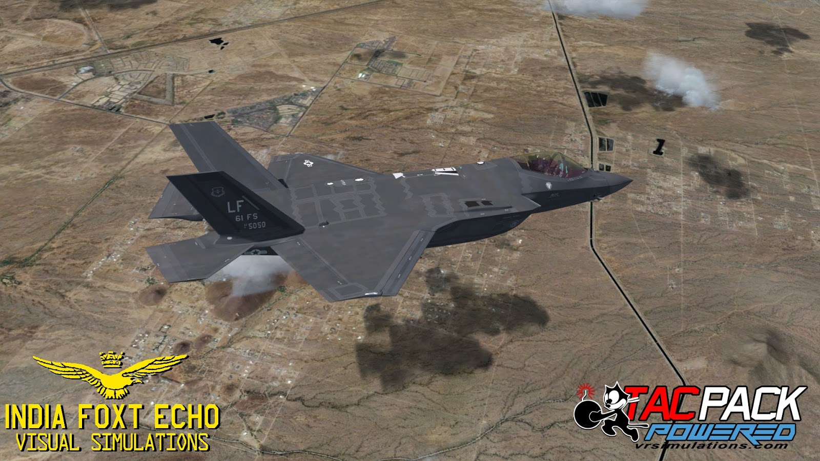 IndiaFoxtEcho Visual Simulations: F-35 Lightning II version