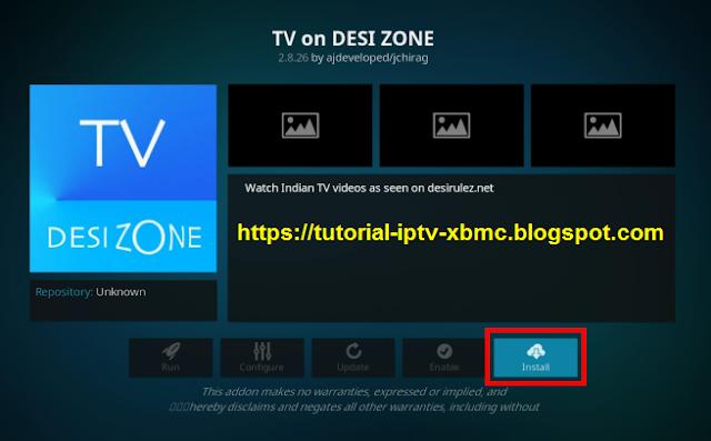 TV on Desi Zone Addon Kodi Repo 2018 - New Kodi Addons Builds 2019