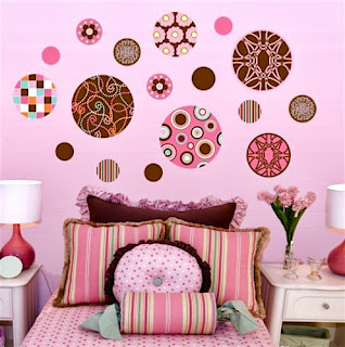 Dormitorios color rosa y chocolate para adolescentes ideas para decorar dormitorios - Decorar paredes dormitorio juvenil ...
