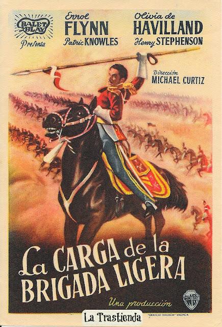 Programa de Cine - La Carga de la Brigada Ligera