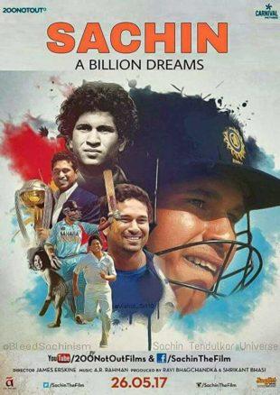Sachin: A Billion Dreams 2017 Full Hindi Movie Download BRRip 720p