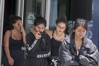 Fans shed tears at the open-casket memorial of rapper XXXtentacion (Photos)