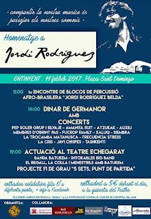 Homenatge a Jordi Rodriguez MENESTRILS
