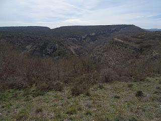 Desfiladero del río Rudrón desde Ceniceros