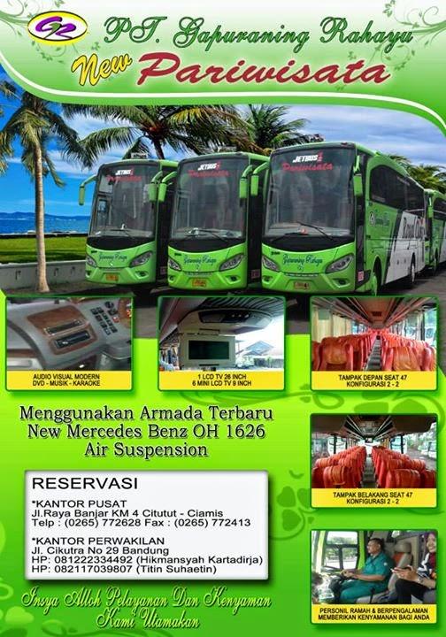 Persewaan Bus Pariwisata murah di Kota Bandung