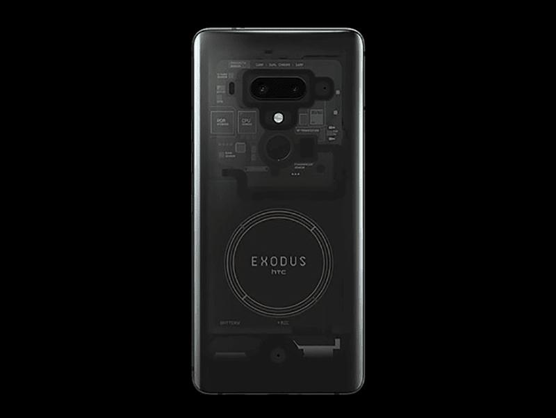 HTC Exodus 1 blockchain phone