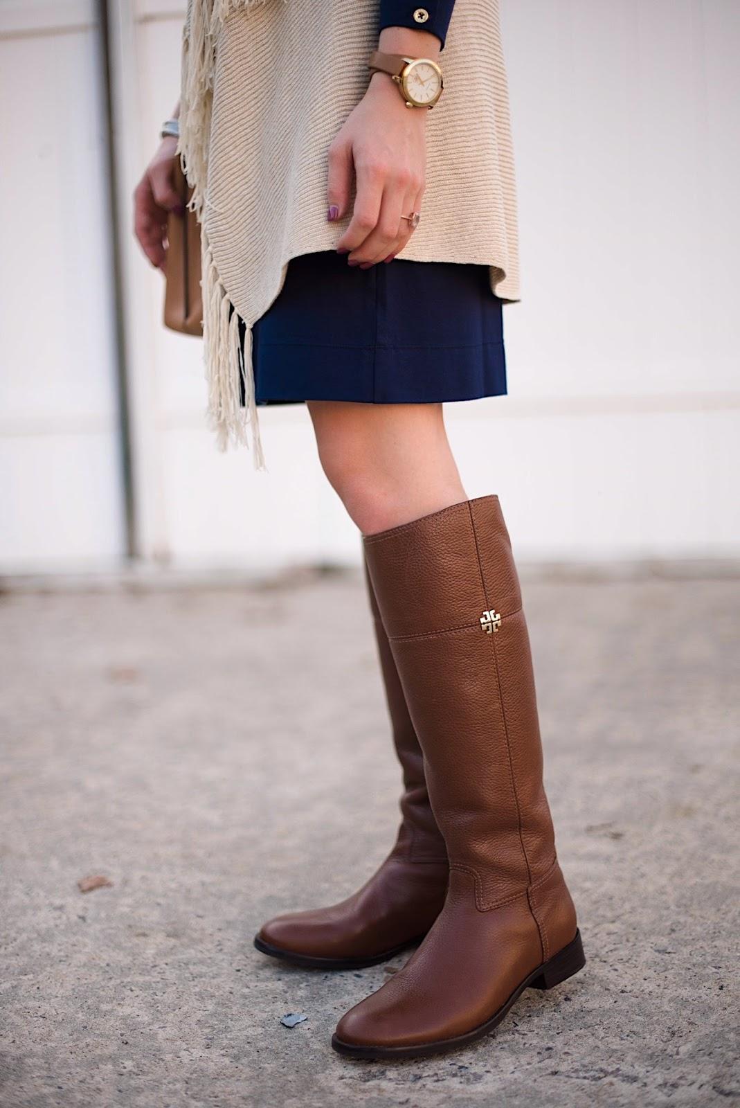 Tory Burch Riding Boots - Rachel Timmerman of Something Delightful Blog