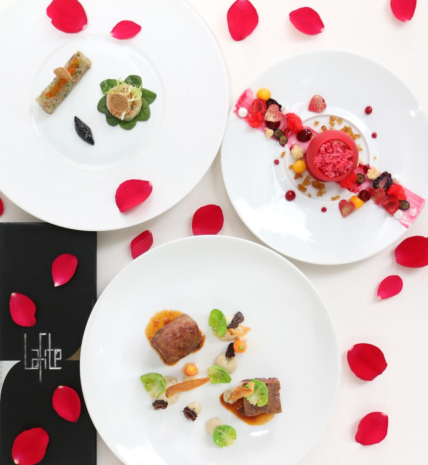 Best fb kl valentine s dinner at lafite shangri la hotel for Best valentines day meals