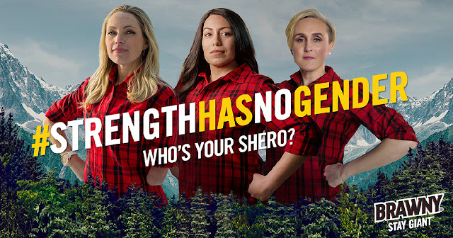 #StrengthHasNoGender - Who's Your 'Shero?