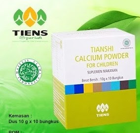 Calcium Powder for Children tiens tianshi