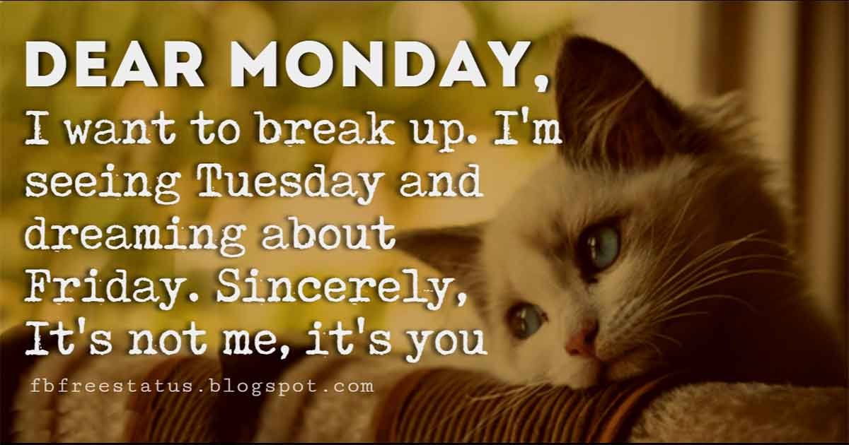 Funny Monday Quotes To Make You Smile In Monday Morning
