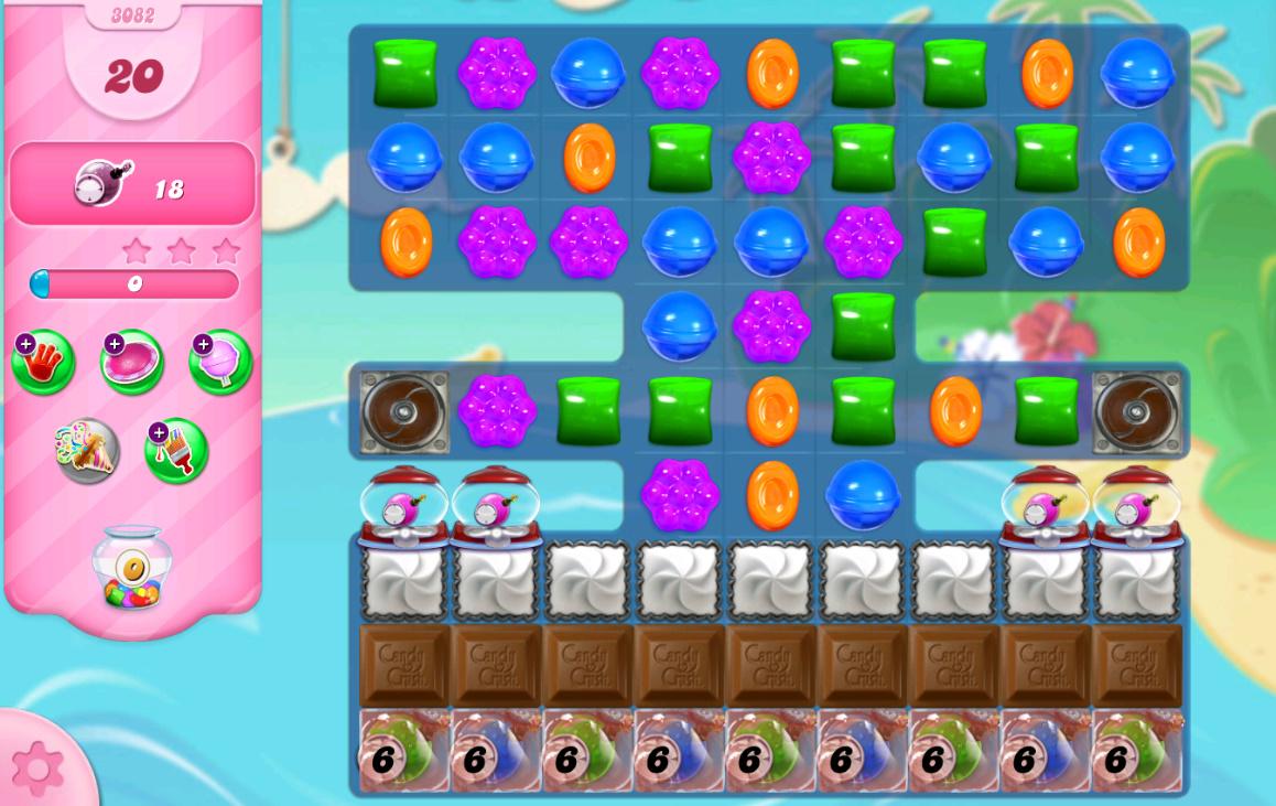 Candy Crush Saga level 3082