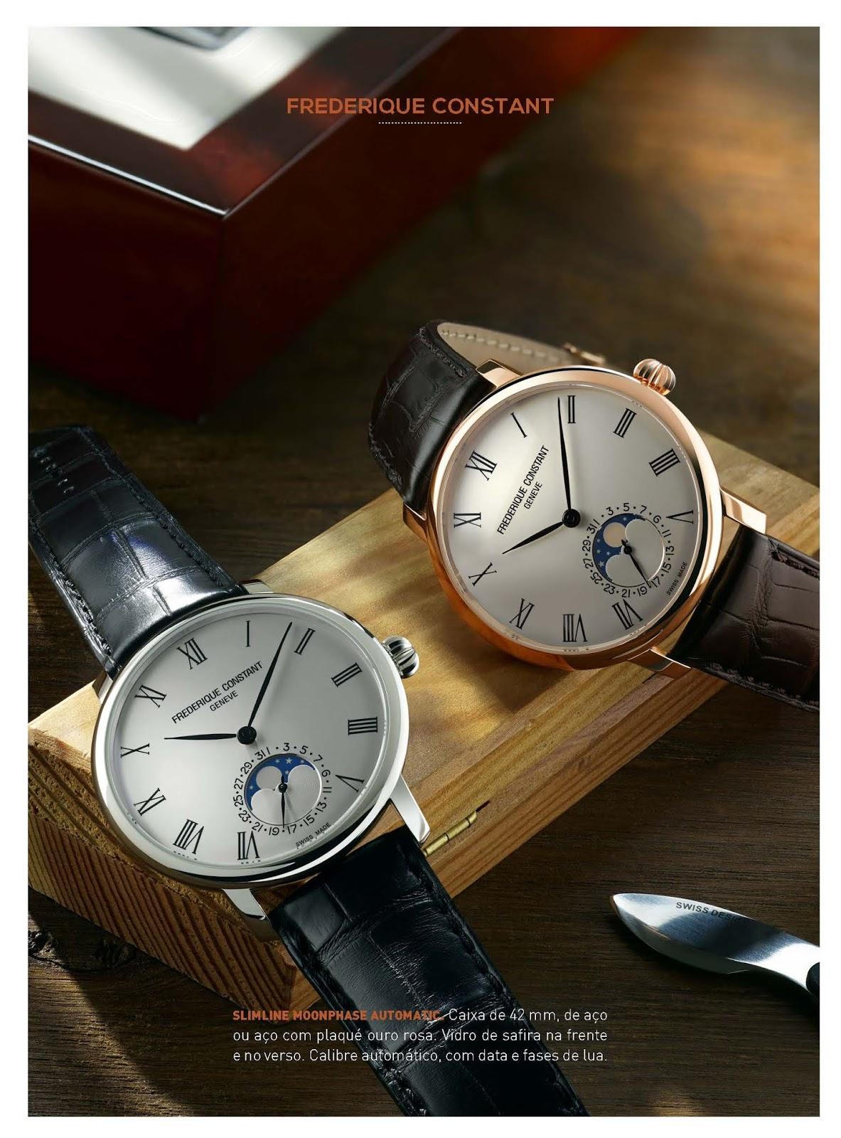 9dddcf473e3 Estação Cronográfica  Os relógios Frederique Constant no Relógios ...