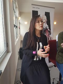 Kumiko Maruyama, CEO de 1st PLACE y creadora de IA.