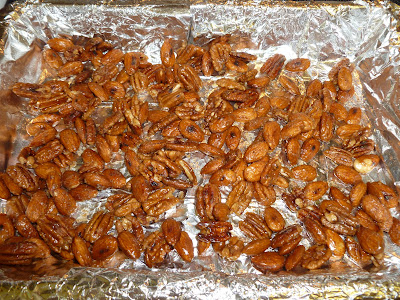 Pumpkin Pie Spiced and Sugared Nuts