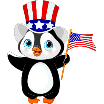Patriotic Penguin