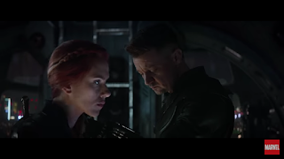 Natasha, Clint Barton, Black Widow, Hawk-Eye, Ronin,Avengers End Game