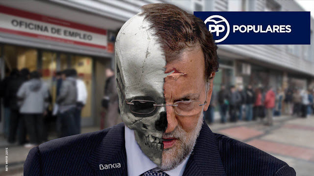 Mariano Rajoy miente compulsivamente para tapar la gran estafa española