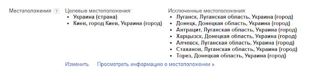 Ошибки в настройке Google Adwords