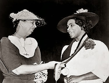 Eleanor Roosevelt & Marian Anderson